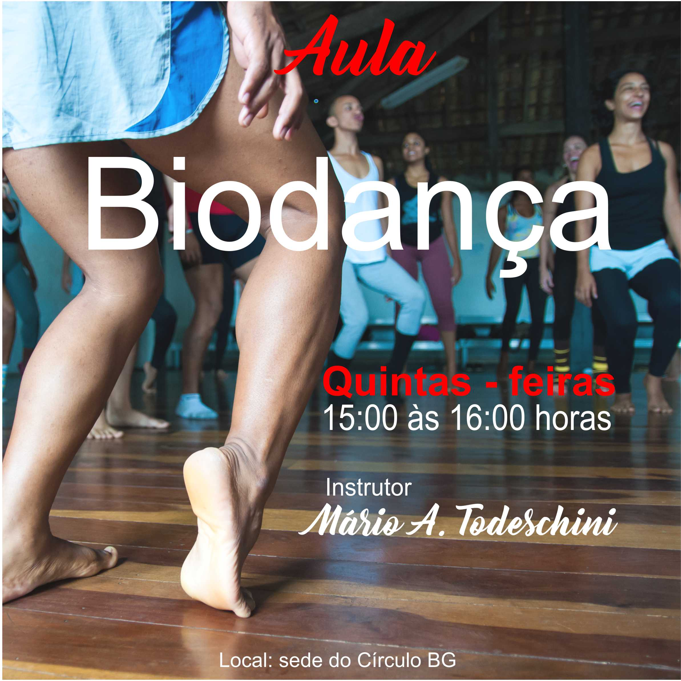 Flyer Biodanca